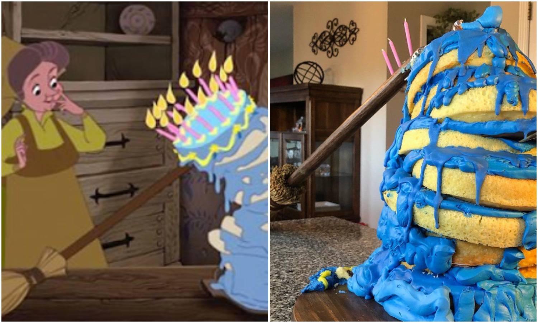 Torta inspirirana Uspavanom ljepoticom postala viralni hit