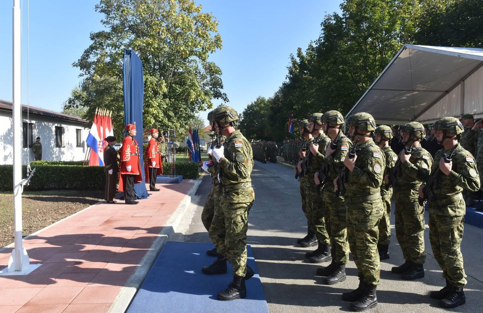 "Zagreb: Svečanost povodom preimenovanja Središta za međunarodne vojne operacije ""Josip Briški"""