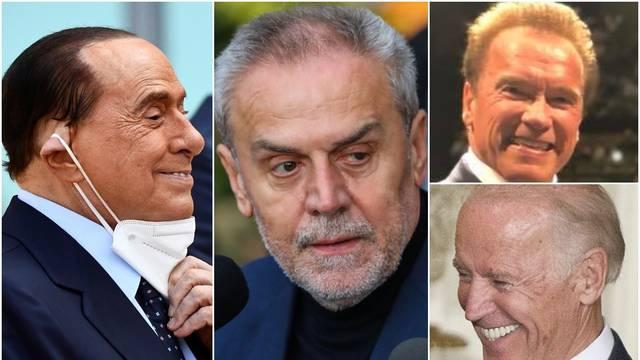 Bore se s borama: Bandić kao grinč, Berlusconi više ne može pomicati lice, Biden se zategnuo