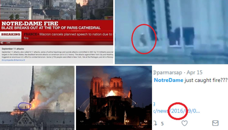 'Detektivi' s društvenih mreža: 'Notre Dame su zapalili, evo ih'