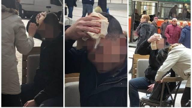 'On je sjedio na terasi kafića, a ovaj mu razbio stolac o glavu!'