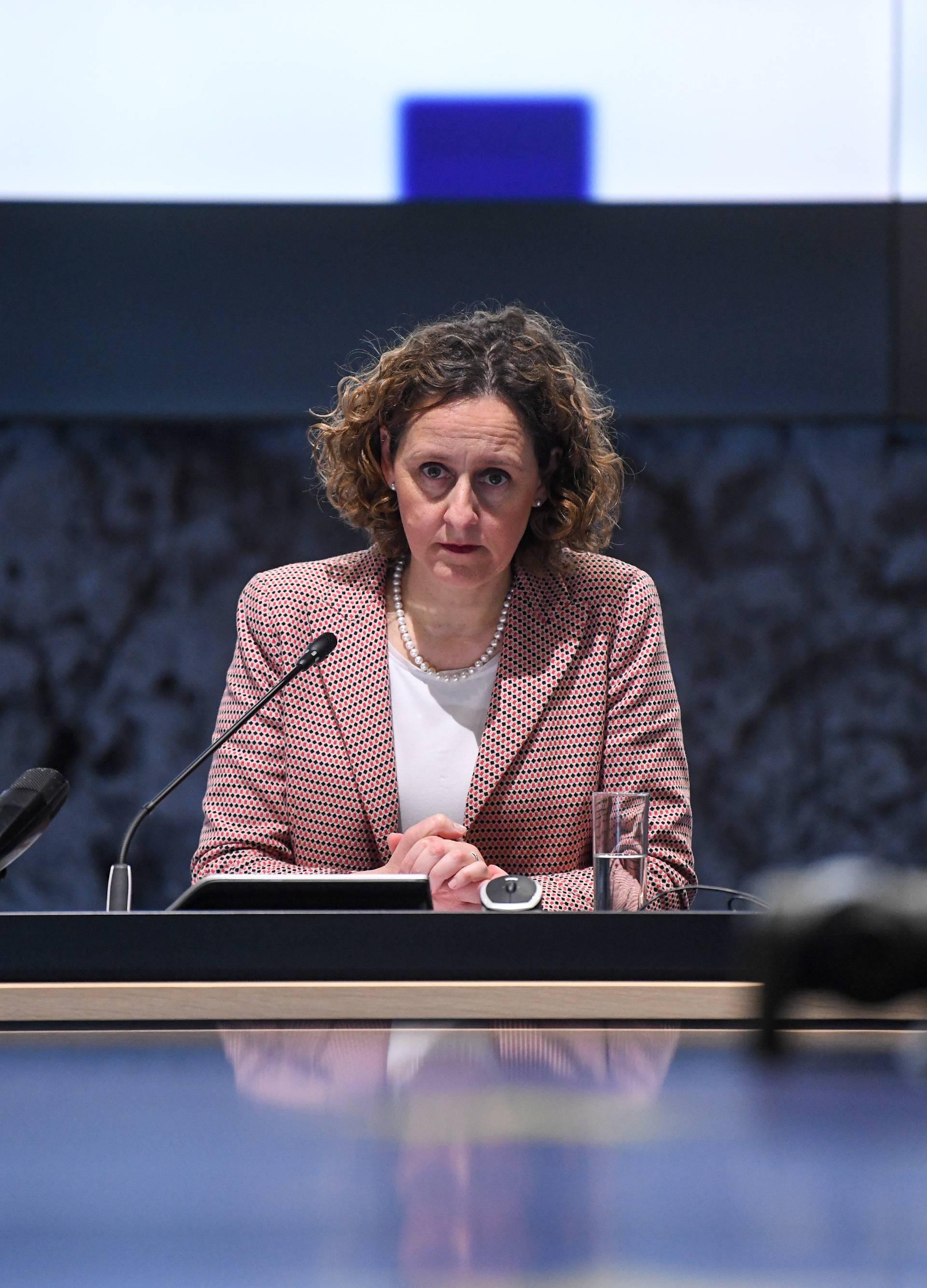 Zagreb: Ministrica Nina Obuljen Koržinek na videokonferenciji s ministrima EU