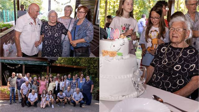 Marija je proslavila svoj 100. rođendan: Jedina želja mi je da svi budu sretni kao što sam ja!