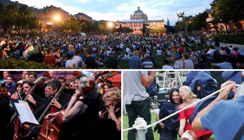 Kolar i Trbović dijelile publici deke na koncertu Zbora HRT-a