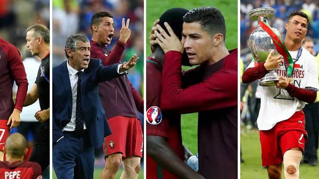 Kapetan, izbornik, motivator, navijač - pravi vođa Portugala