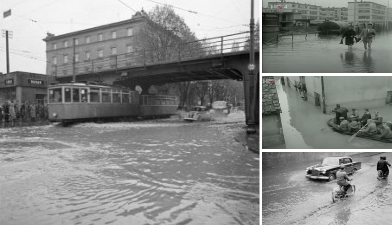 Prošlo je 56 godina od velike zagrebačke poplave, od nove nas štiti oprema od 250 mil. kn