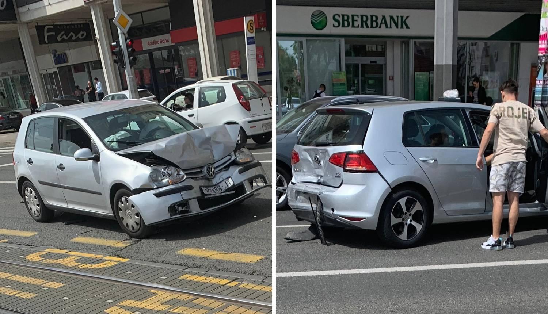 Sudar dva auta u Dubravi: Na mjesto nesreće dojurila Hitna