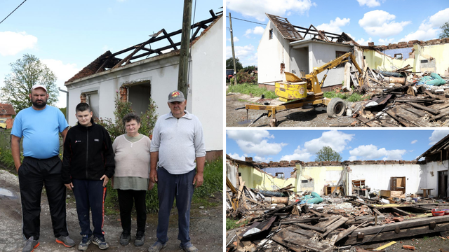 Obitelj Bakić dobiva novu kuću: 'Teško je živjeti u kontejneru'