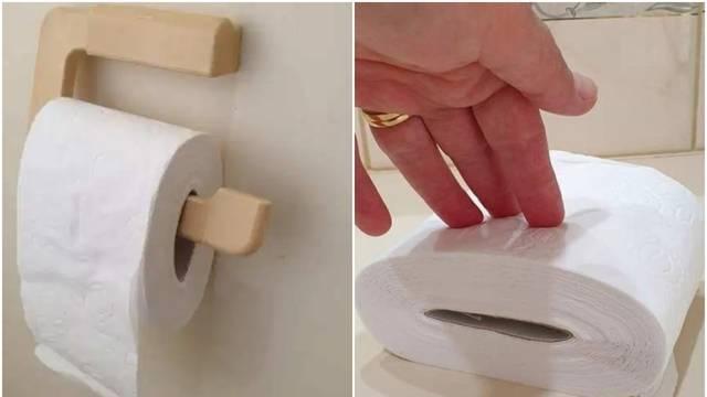 Trik za WC papir