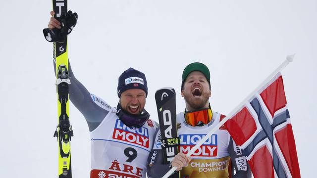 Alpine Skiing - FIS Alpine World Ski Championships - Men's Downhill
