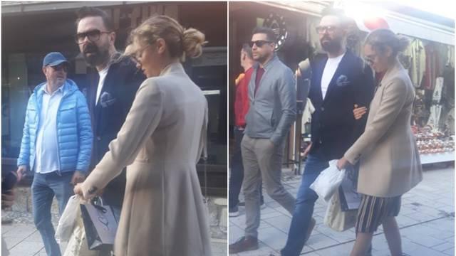 Hana Huljić i Grašo su prošetali Sarajevom držeći se za ruke: 'Kako smo ispali na fotkama?'