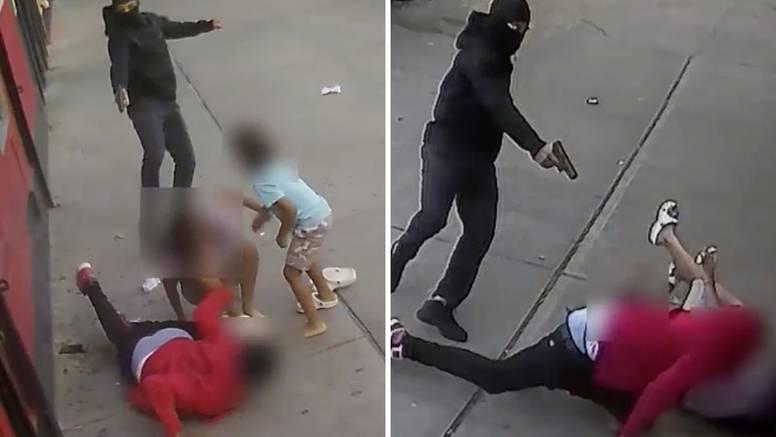 Uznemirujuća snimka: Pucao je preko djece! Malenom se tresla noga od straha. Svi su preživjeli