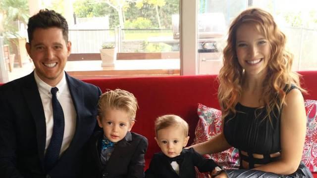 Nakon kemoterapije: Bubléov sin (3) 'osjeća se jako dobro'