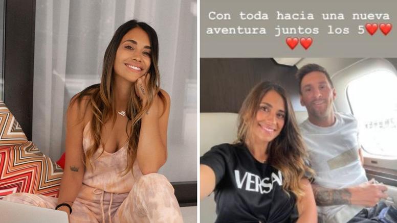 Antonela Roccuzzo o Messijevu odlasku iz Barcelone: 'Idemo zajedno prema novoj avanturi!'