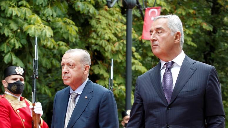 Đukanović i Erdogan sastali se u Cetinju: 'Crna Gora i Turska njeguju prijateljske odnose'
