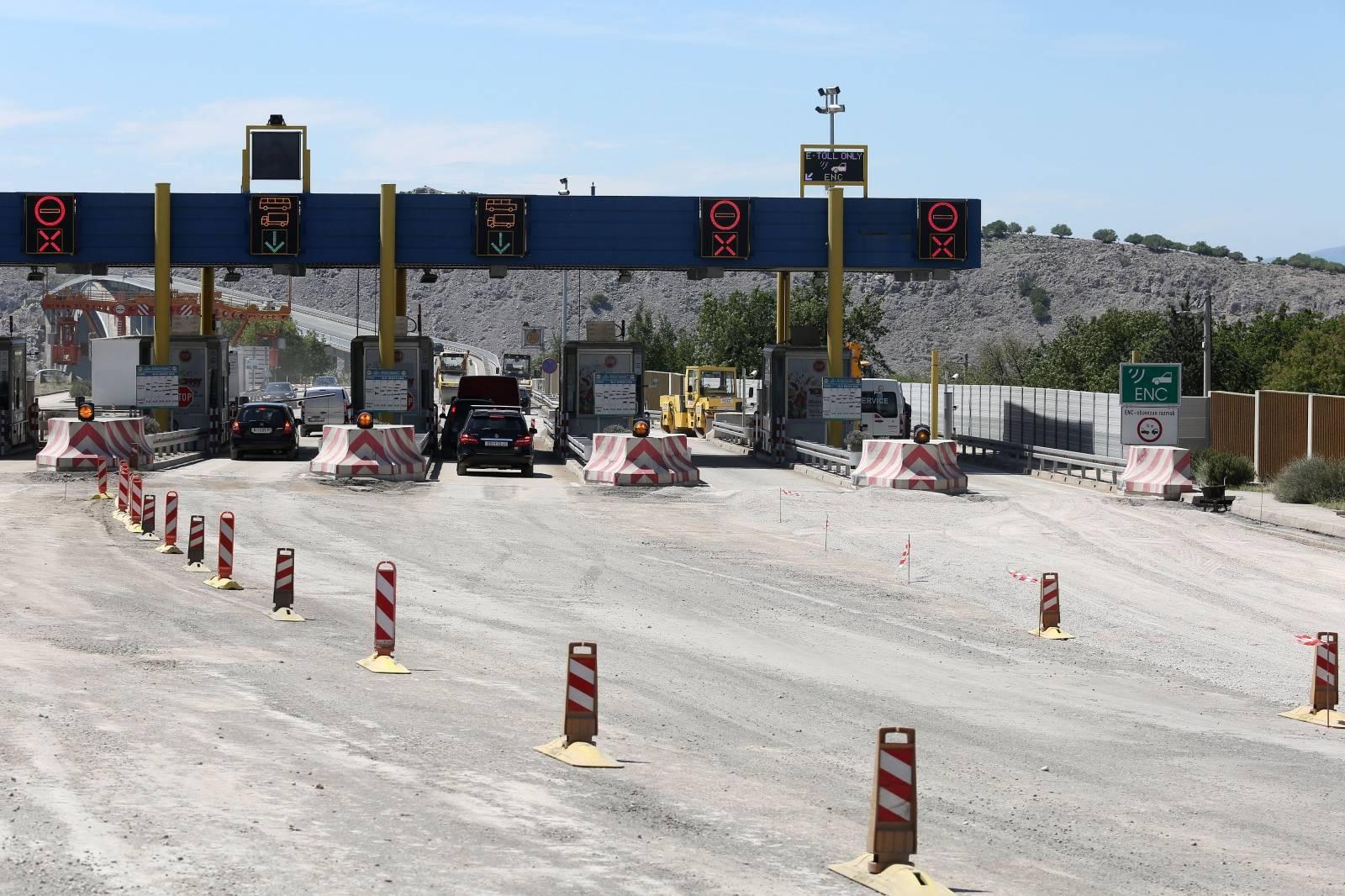 Kraljevica: Radovi na prometnici na Krčkom mostu