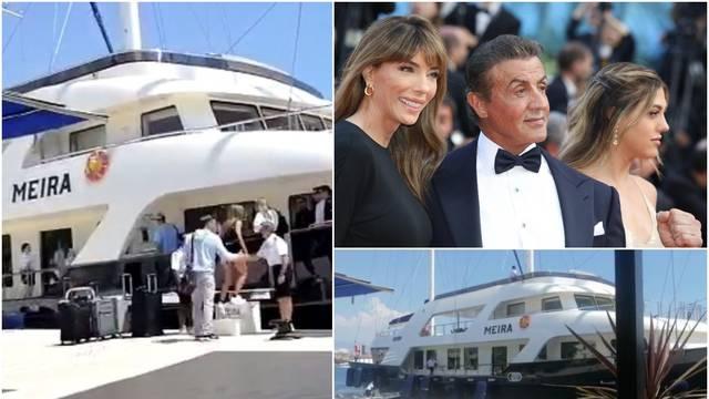 Obitelj Stallone stigla u Split: Rambo je 'pobjegao' na jahtu?