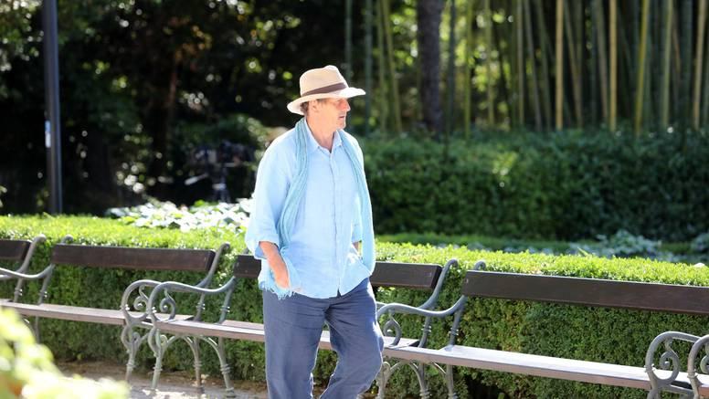 Monty Don snima emisiju u opatijskom parku Angiolina