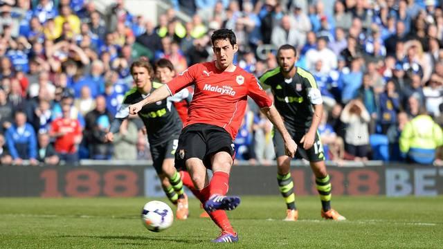 Soccer - Barclays Premier League - Cardiff City v Stoke City - Cardiff City Stadium