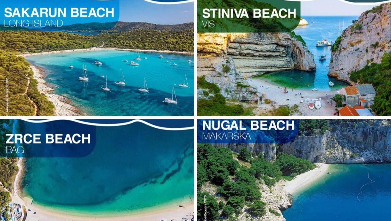 10 najboljih hrvatskih plaža  za uživanje: Stiniva, Nugal, Zrće