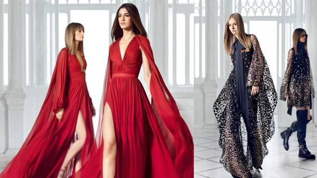 Elie Saab predlaže luksuz, boje i finu eleganciju iz osamdesetih