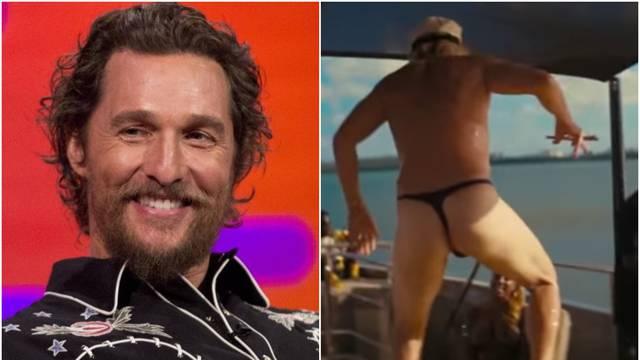 Gologuzi zavodnik: Matthew McConaughey pleše u tangama