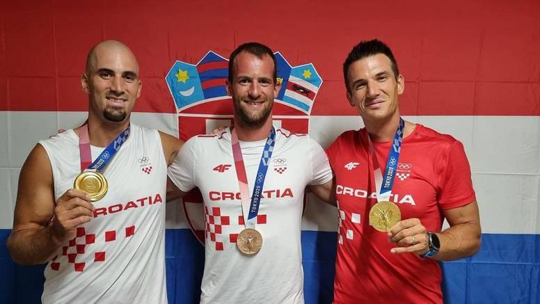 Zlatna braća Sinković i brončani Martin u subotu stižu u Zagreb