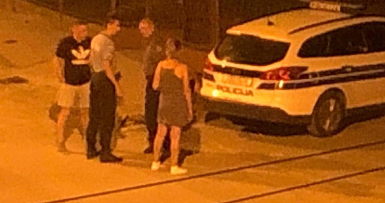 Snimka iz Zagreba: Vrištao dok su ga privodili: 'Boli me, boli!'