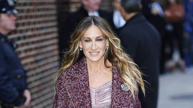 Sarah Jessica Parker is spotted in New York City - USA