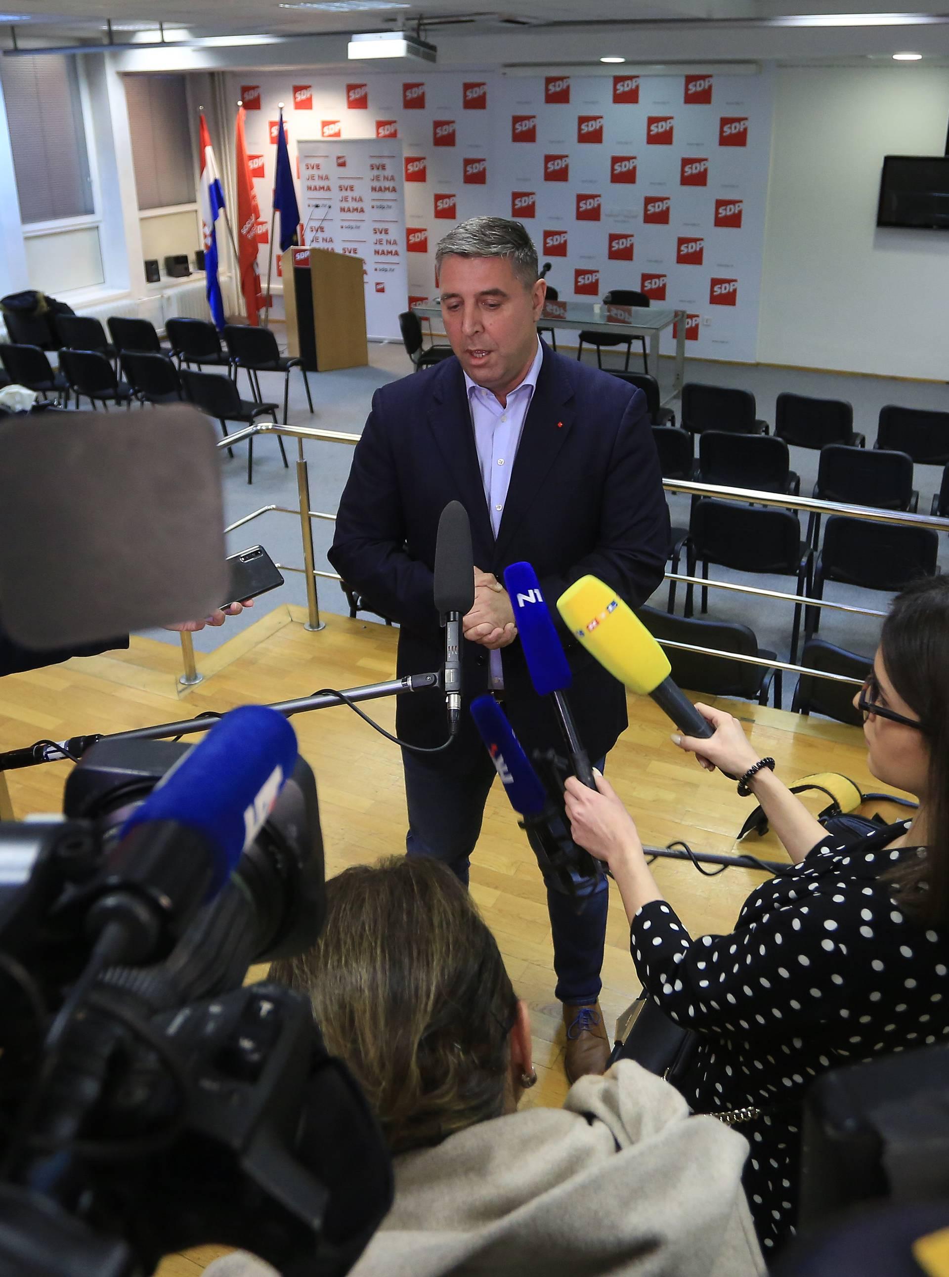 SDP će iza euroizbora odlučiti o ukidanju suspenzija četvorki