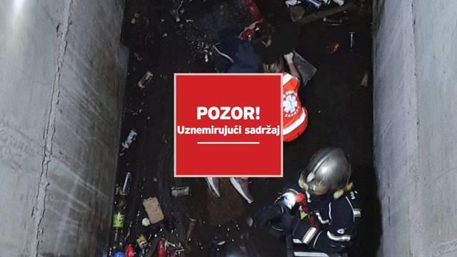 Uznemirujuće: Djevojka (28) u Novom Zagrebu pala je u otvor za lift u nedovršenoj bolnici