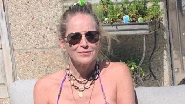 Sharon Stone (62) se skinula u bikini: Posramila si tinejdžerice