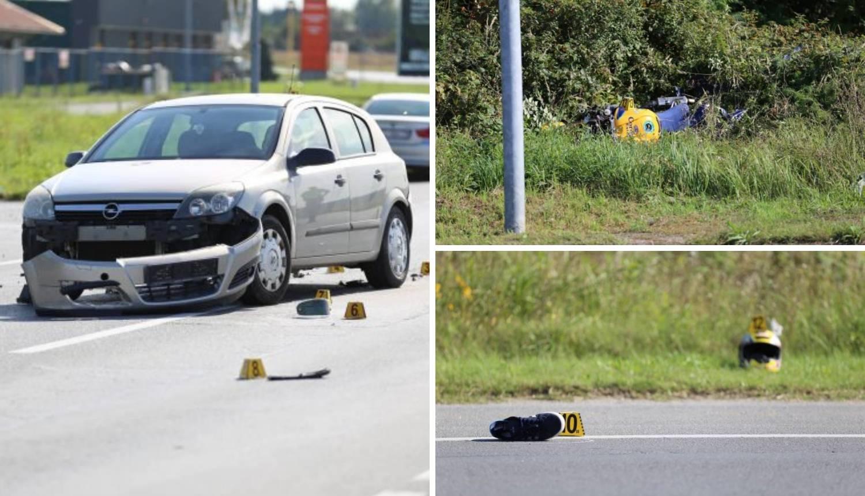 Motociklist pretjecao auto pa se frontalno sudario s drugim