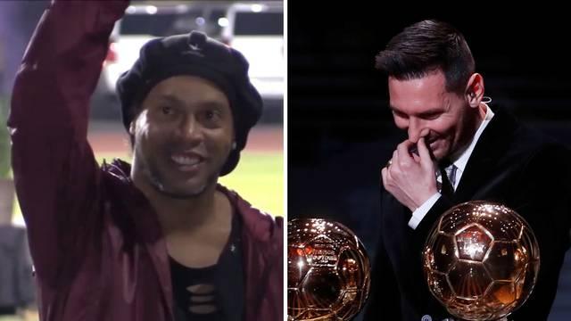 Ronaldinho: Ne mogu reći da je Leo Messi najbolji u povijesti...