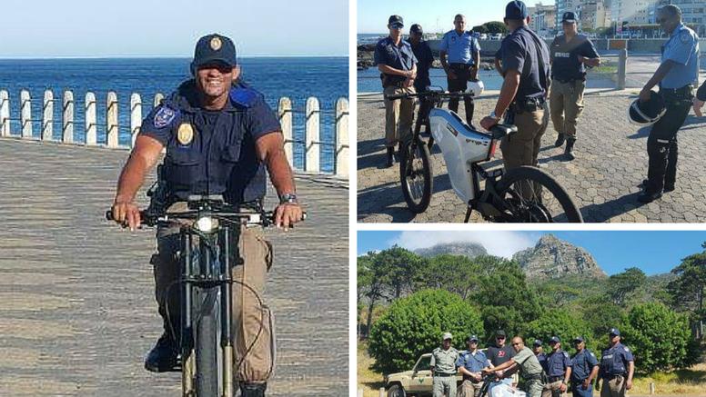 Južnoafrički policajci lovit će kriminalce Rimčevim biciklima