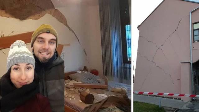 Još nisu uplatili ni prvu ratu kredita, a potres im je uništio stan iz snova: 'Sve je nestalo'