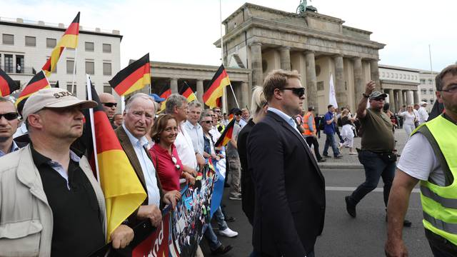 AfD demonstration 'Future Germany'