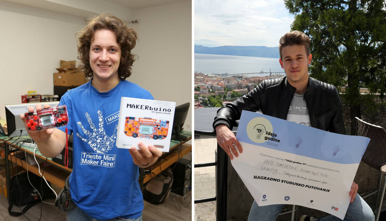 Inovatori srednjoškolci: Albert i Ante Toni idu u SAD i Katar