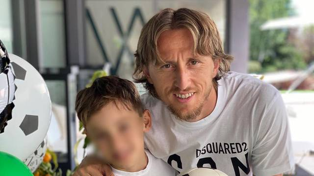 Slavlje u obitelji Modrić: Sin Ivano je slavio deseti rođendan
