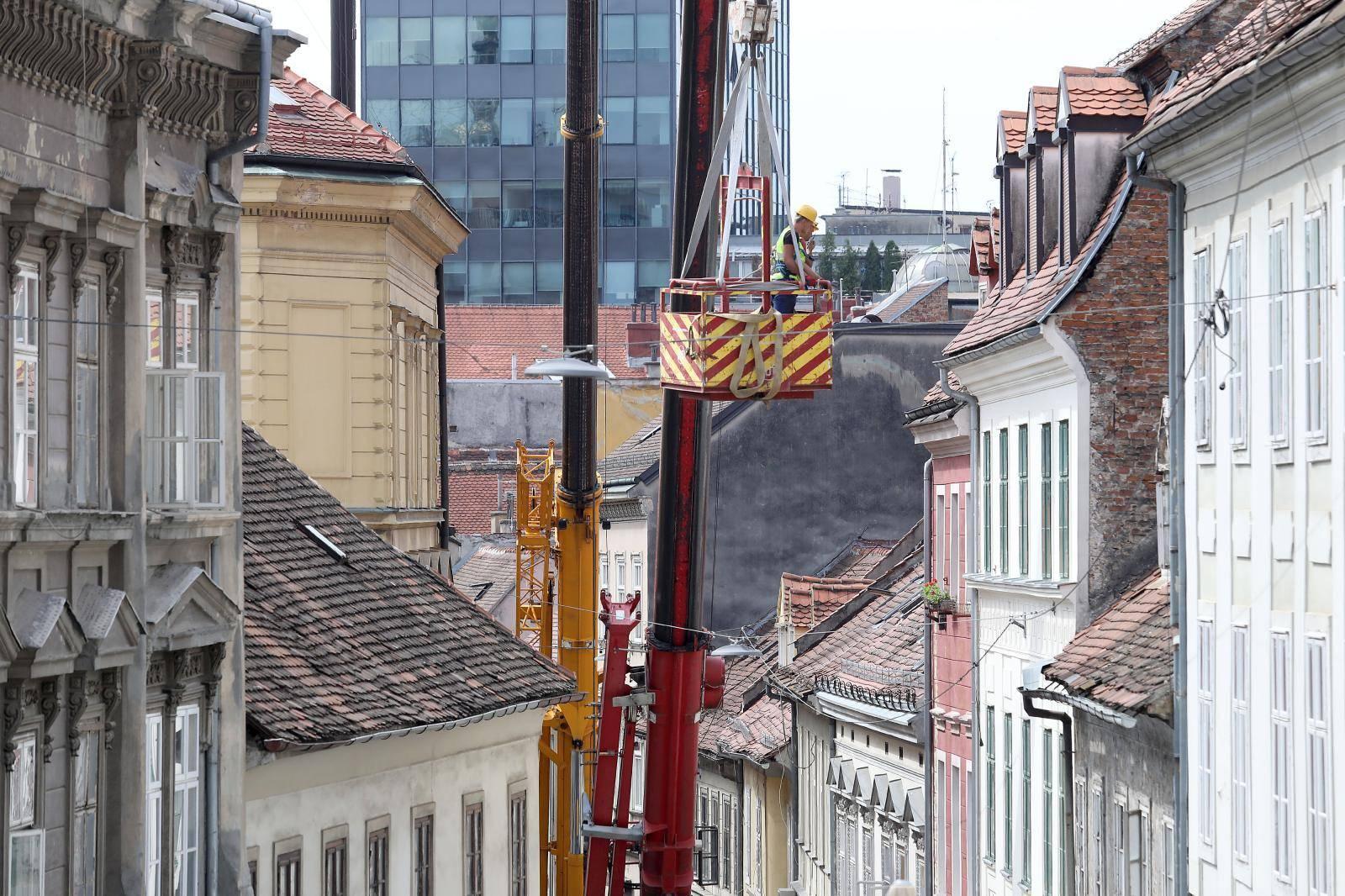 Počela sanacija Radićeve ulice od posljedica potresa