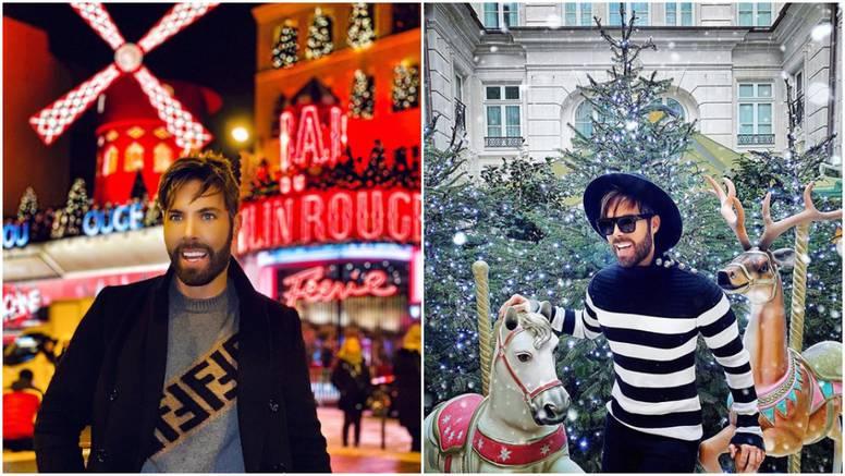Mačak posjetio slavni kabaret, uživa u pariškoj božićnoj bajci