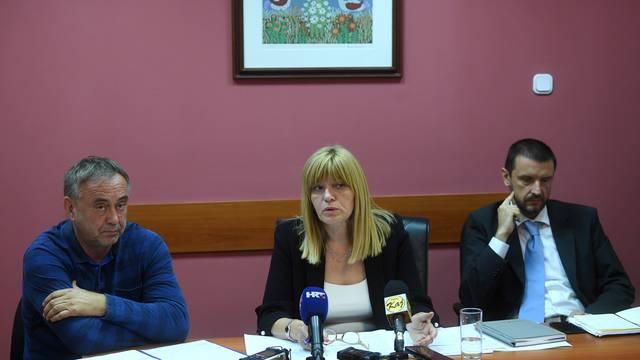 Zagreb: Konferencija za medije Importanne centra povodom pokretnih stepenica
