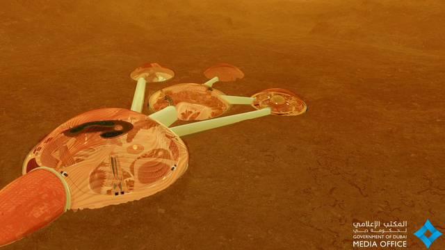 Zalog za budućnost: Bogati će šeici na Marsu praviti grad...