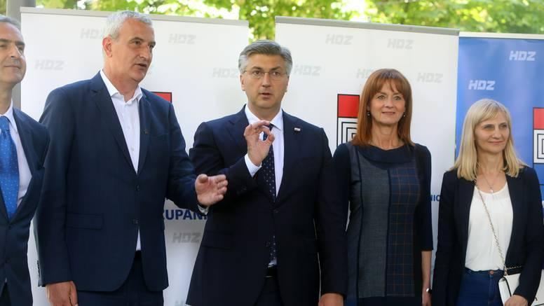 Plenković kritizirao novinare: 'Pitanjima izjednačavate mene i Milanovića što nije u redu'