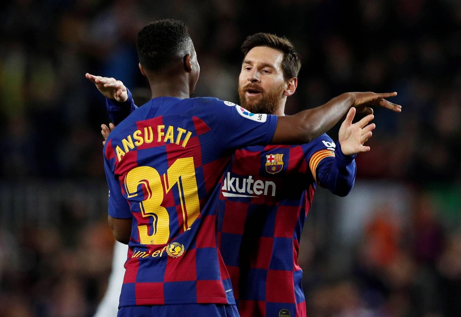 La Liga Santander - FC Barcelona v Levante
