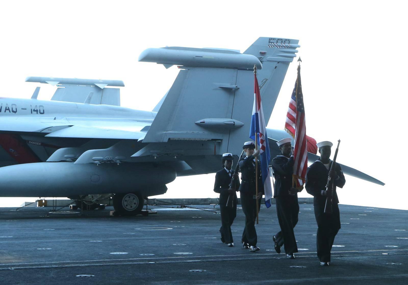 kosarka USS Truman HRM