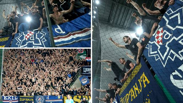 Nema kraja fešti u Budimpešti: Boysi nadglasali cijeli stadion!