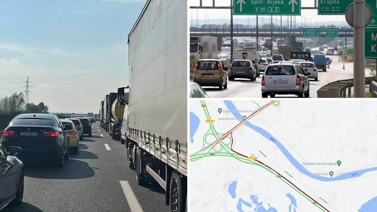 Otvorena A2: Promet se odvija dvosmjerno, gužva sve manja
