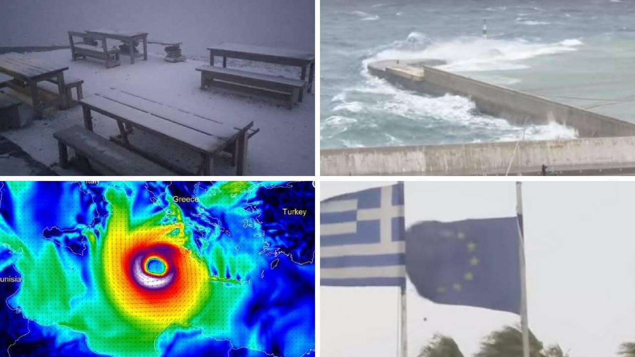Razorni uragan prijeti Europi: Grčka strahuje od katastrofe
