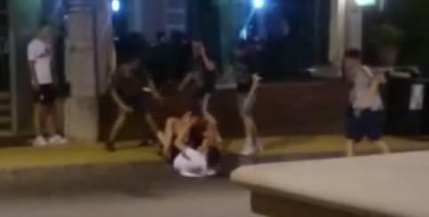 Video: Mlatili se pred klubom u Opatiji, pobjegli prije policije...